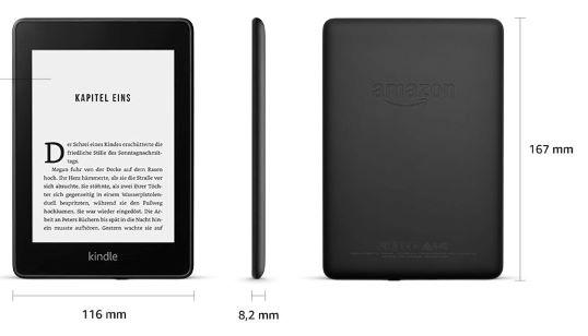 Kindle Paperwhite afmetingen