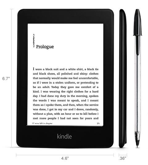 Kindle paperwhite 3G specificaties